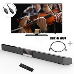2.0 Channel Bluetooth Sound Bar Wireless Streaming TV and Mu