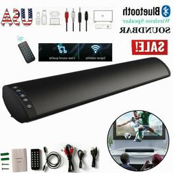 2.0 Channel TV Home Theater 20W Soundbar Bluetooth 5.0 Sound