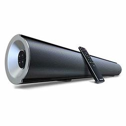 2.1 Channel Bluetooth Sound Bar with Built-in Dual Subwoofer