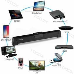 20W 52CM TV Speaker Soundbar Bluetooth Wireless Home Theater