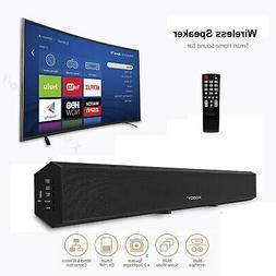 40W Surround Sound Bar Speaker 4.0 System Wireless Subwoofer