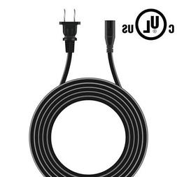 PwrON 5ft UL AC Power Cord for Polk Audio SurroundBar 3000 s