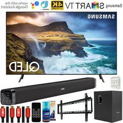 "Samsung 65"" Q70 QLED Smart 4K UHD TV 2019 Model + Soundbar w"