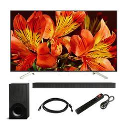 "Sony 65"" X850F Class BRAVIA 4K HDR Ultra HD Smart LED TV wit"