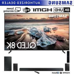 "Samsung 75"" Q900 QLED Smart 8K UHD TV  w/ HW-N950 Soundbar B"