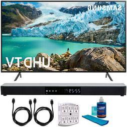 "Samsung 75"" RU7100 LED Smart 4K UHD TV 2019 Model with 31"" S"