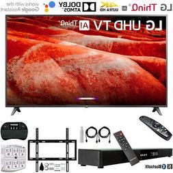 "LG 82"" 4K HDR Smart LED IPS TV w/ AI ThinQ  + 31"" Soundbar B"