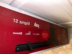 Polk Audio Signa S1 Universal TV Sound Bar and Wireless Subw