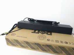 Dell AX510 Black Monitor Mounted Multimedia Soundbar Speaker