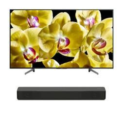 "Sony BRAVIA X800G 49"" Class 4K Ultra HD HDR Smart LED TV w"