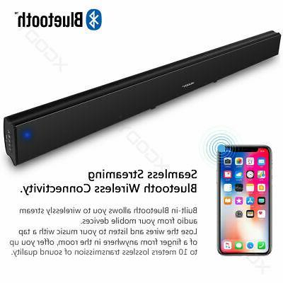 30W System TV Home Wireless Soundbar Subwoofer US