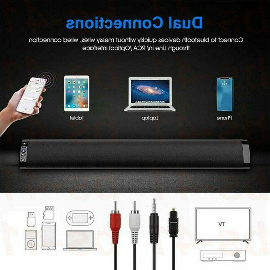 Bluetooth 5.0 TV PC Subwoofer