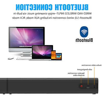 Bluetooth Bass Wired Theater