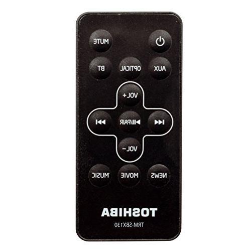 Toshiba 2.0 Channel Soundbar Bar Optical, USB Remote