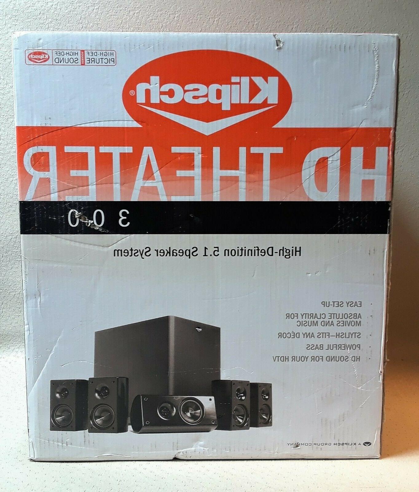 hd 300 5 1 theater speaker system