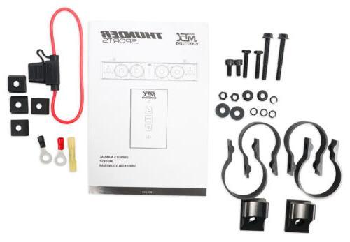 Honda Pioneer Rollbar Rollcage w/ Bluetooth
