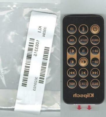 new genuine sound bar remote control 1063315
