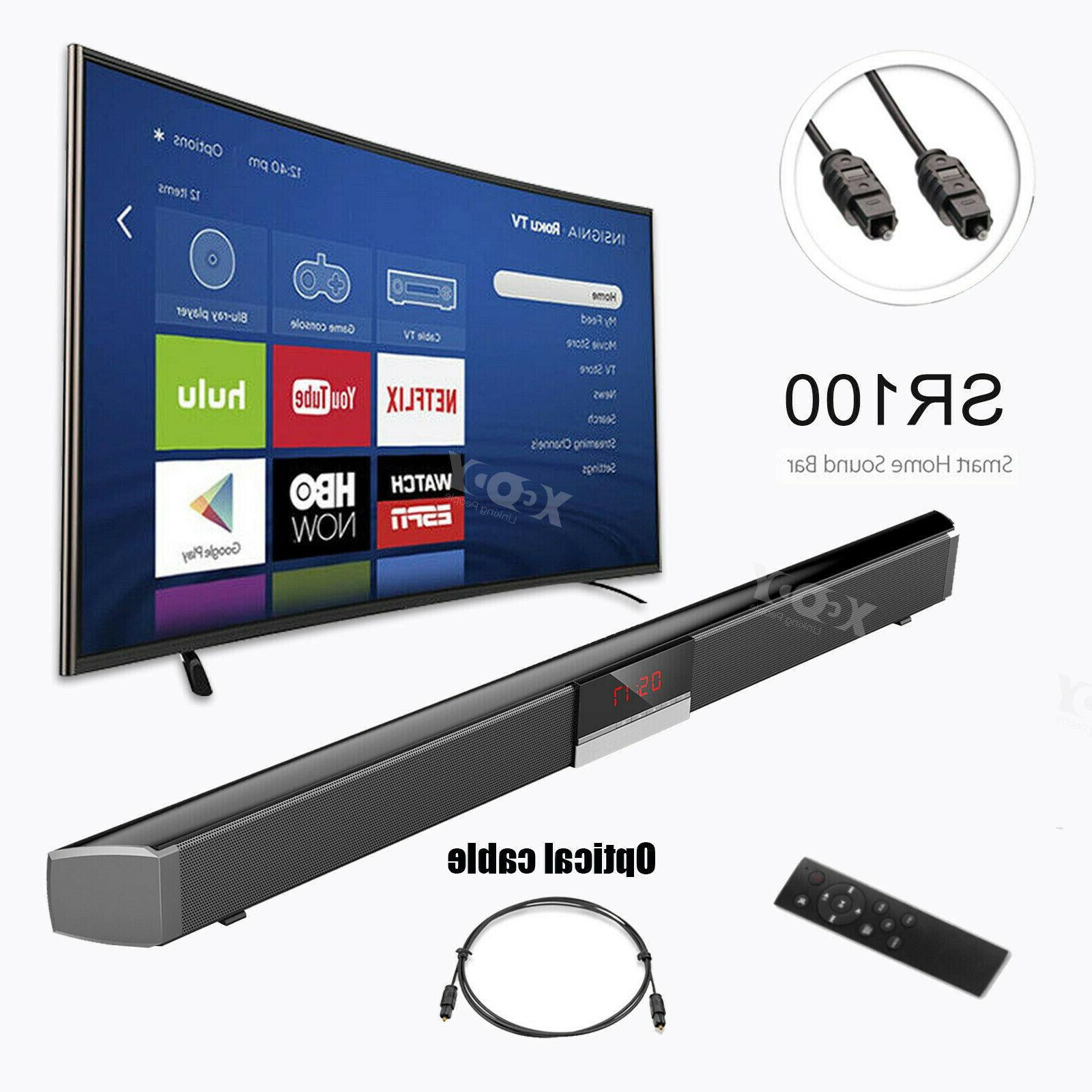 powerful tv sound bar home theater subwoofer
