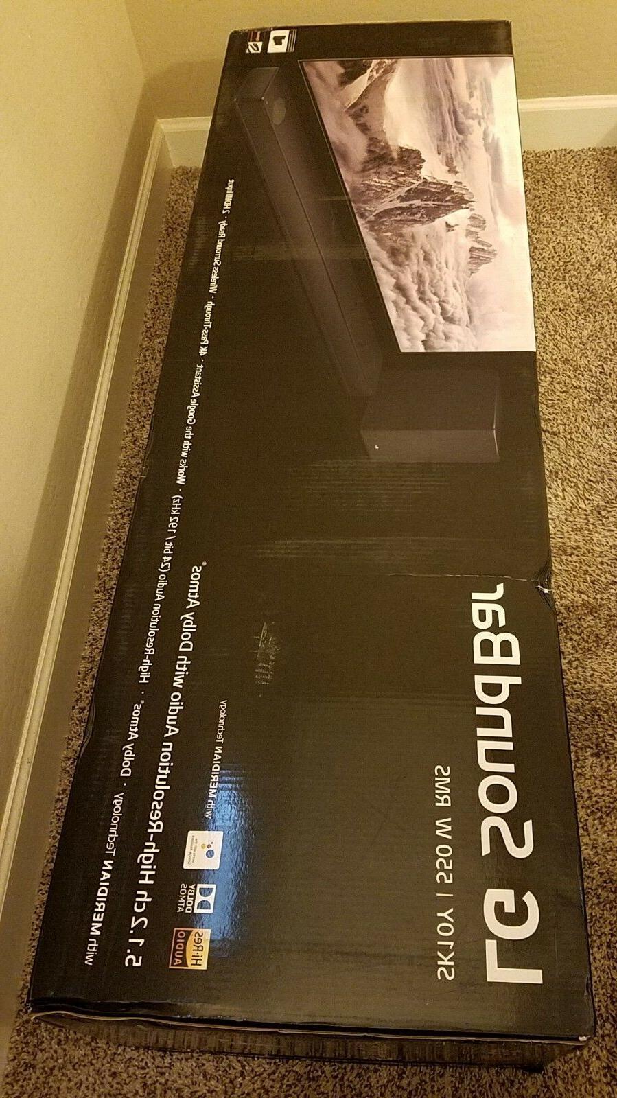 LG 5.1.2-Channel Audio Soundbar With Dolby Atmos