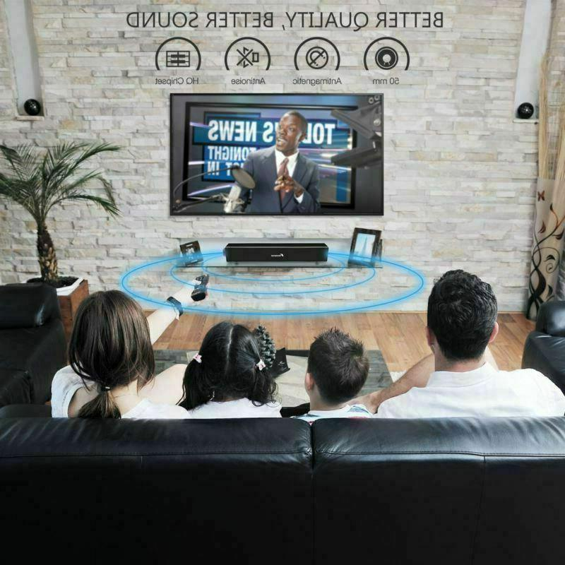 Sound Bar Wired and Home Theater TV USA
