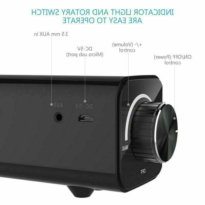 Sound Bar TV Wired and Bluetooth Home USA