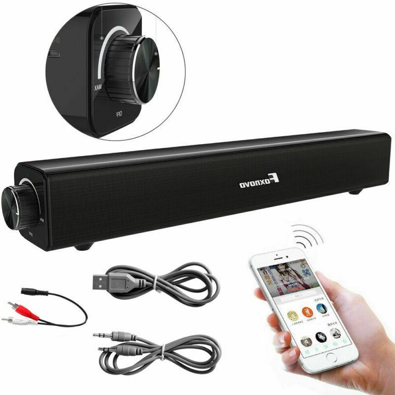 Sound TV Wired Wireless Home Theater Speaker USA