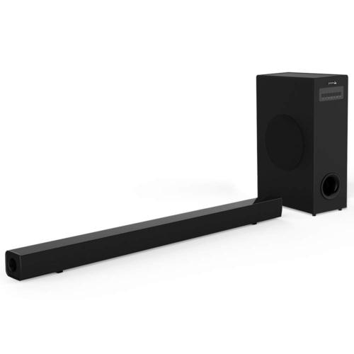 Sound Bar with Subwoofer, Meidong Soundbar with Sub Wired an