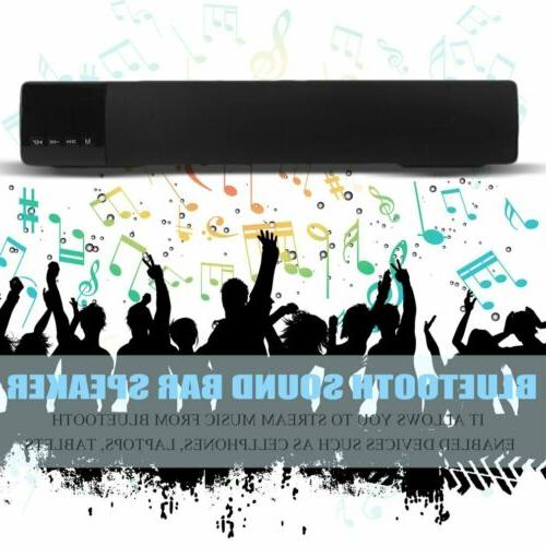 TV Sound Bar Theater Bluetooth Wireless 3-Color