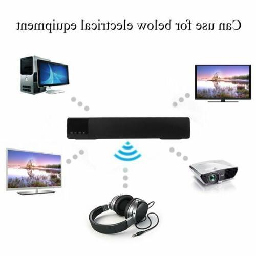 TV Home Theater Subwoofer Soundbar Bluetooth Wireless