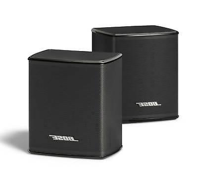 Bose Surround Black works with Soundbar 500 or 700