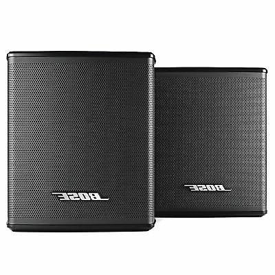 surround speakers black works with soundbar 500