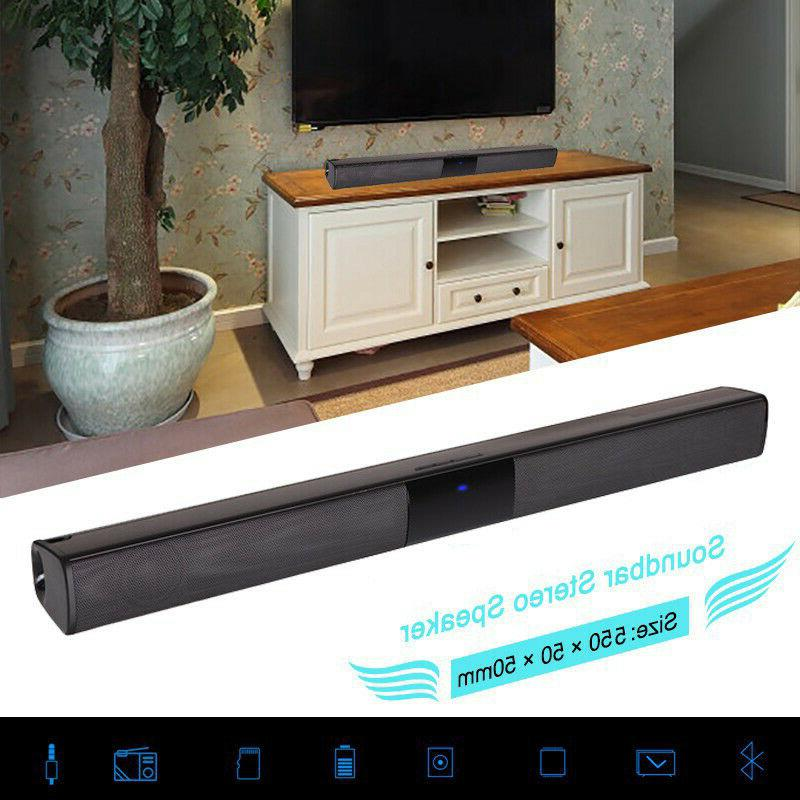 TV Home Wireless Bluetooth Bar Stereo Subwoofer