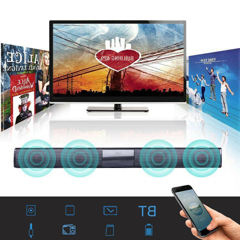 tv home theater soundbar wireless bluetooth sound