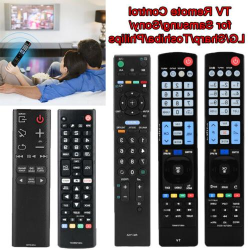 TV Remote Control for LG Samsung Sony Toshiba Sharp Philips