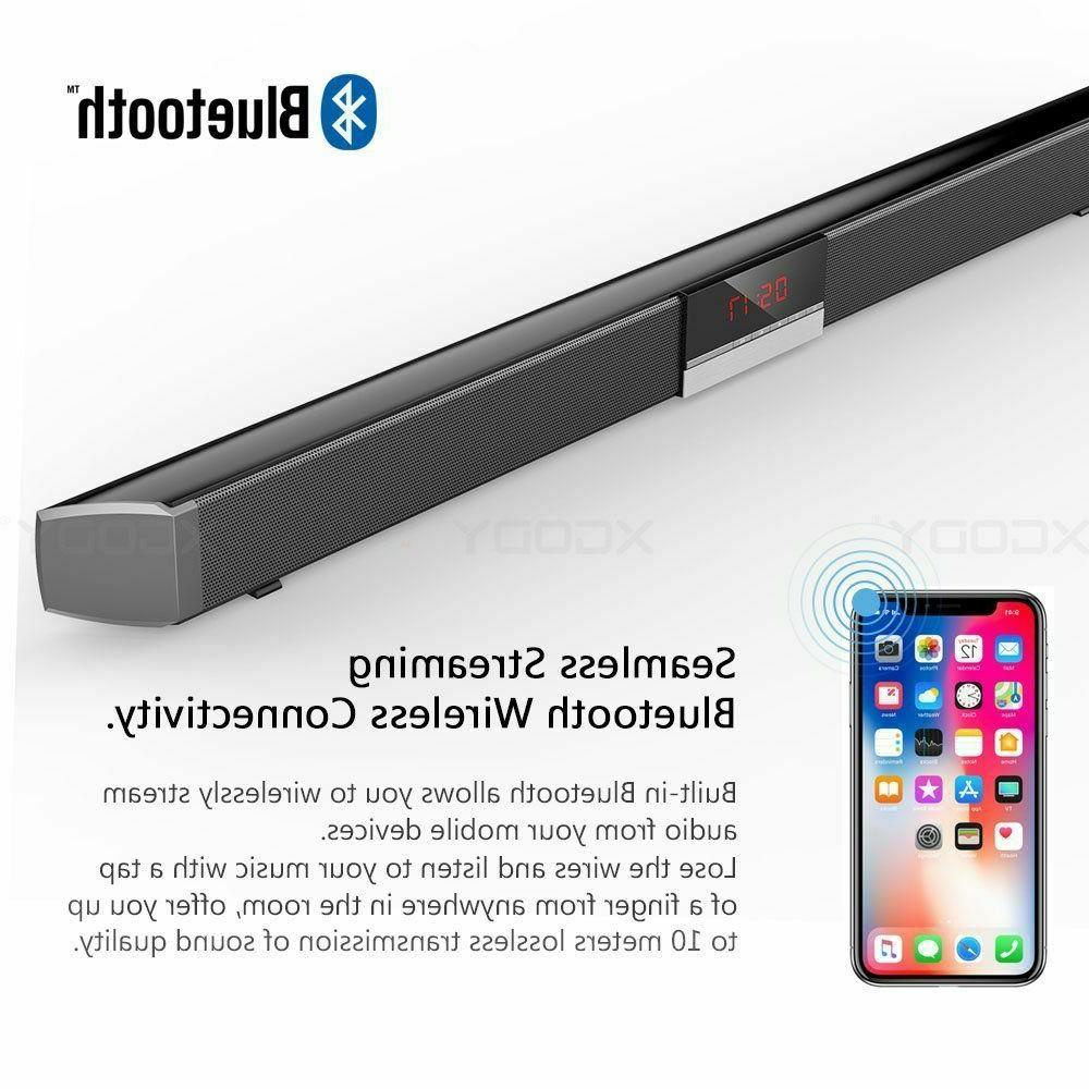 TV Wireless Sound Bar With