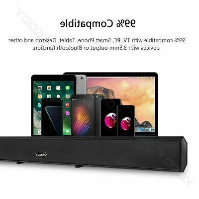 TV Speaker Wireless Theater Sound Bar 40W US