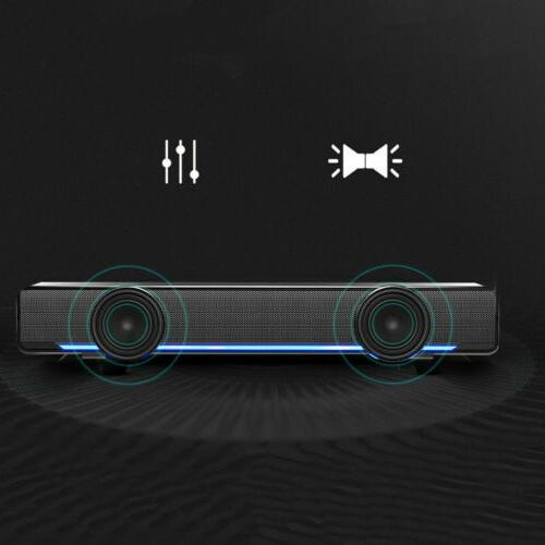 usb sound bar tv soundbar wired