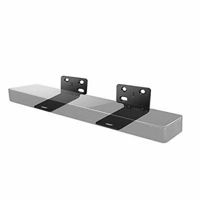 Wall Mount Bracket Holder Save Space For Soundbar Speaker Bl