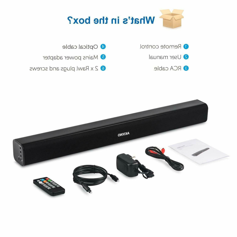 Wireless Sound 20W Soundbar