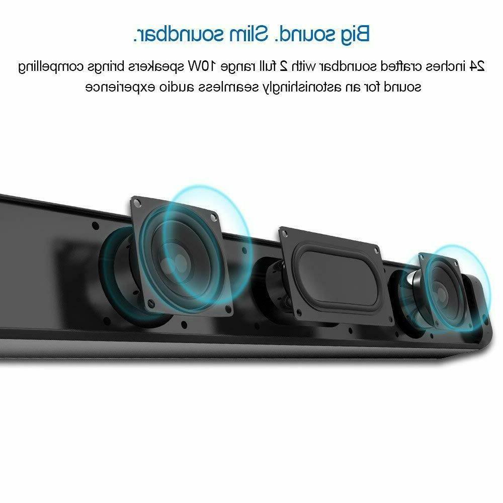Wireless Sound Bar 20W Soundbar
