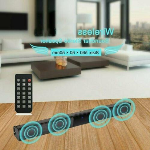 Wireless Bar Speaker System Theater