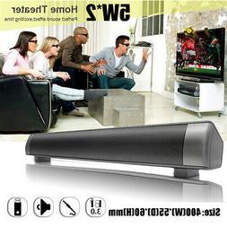 Multimedia Sound Bar USB bluetooth Stereo Sound Speaker Audi
