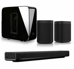 Sonos PlayBar Soundbar Sonos One G2 Black Pair Wireless Spea