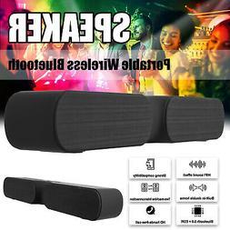 Portable Bluetooth Speaker Wireless Loud Soundbar Outdoor Ba