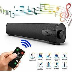 "Portable Soundbar For Outdoor/Indoor Wired "" Wireless Blueto"