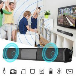 Powerful TV Sound Bar Home Theater Subwoofer Soundbar Blueto