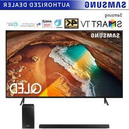 "Samsung QN55Q60RA 55"" Q60 QLED Smart 4K UHD TV  w/ HW-Q60R S"