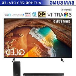 "Samsung QN65Q60RA 65"" Q60 QLED Smart 4K UHD TV  w/ HW-Q60R S"