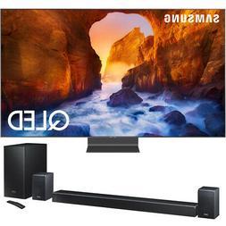 "Samsung QN65Q90RA 65"" Q90 QLED Smart 4K UHD TV  w/ HWQ90R So"