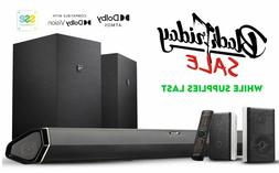 Nakamichi Shockwafe Elite 7.2.4Ch 800W Soundbar w Dolby Atmo